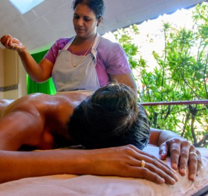 Ayuveda Massage at BASIS India